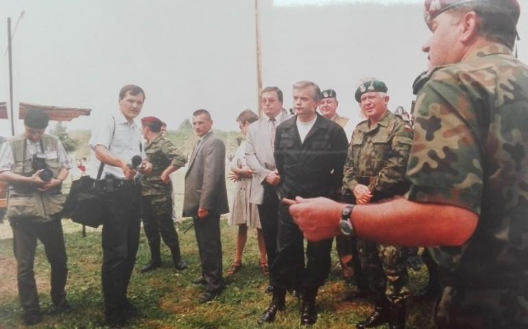 W. Cimoszewicz jako premier w Glinniku