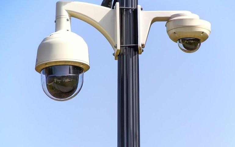 Czy monitoring zarejestrował, kto wbijał gwoździe w parku?