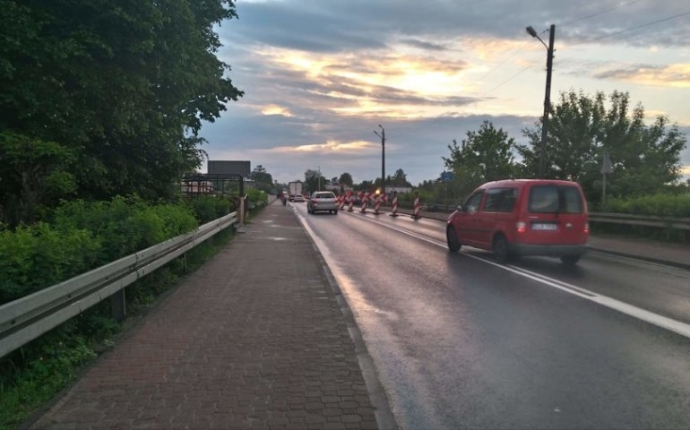Uwaga na utrudnienia na moście w Sulejowie! (AKTUALIZACJA)