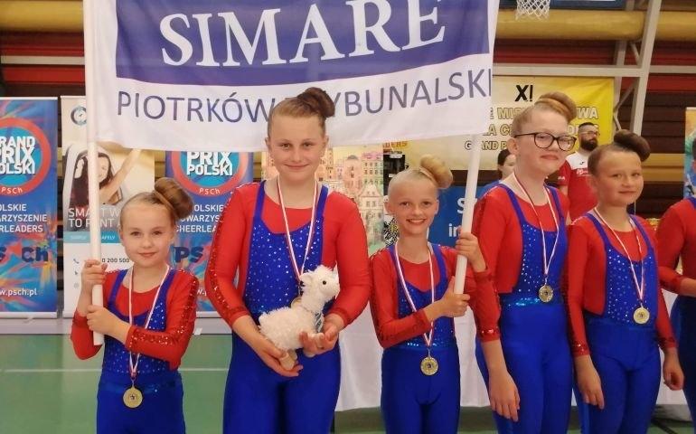 Dziewczyny z SimaRe ze złotym medalem