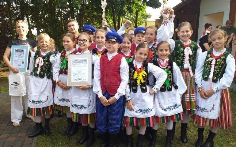Choberki na XII Ogólnopolskim Festiwalu Zespołów Folklorystycznych