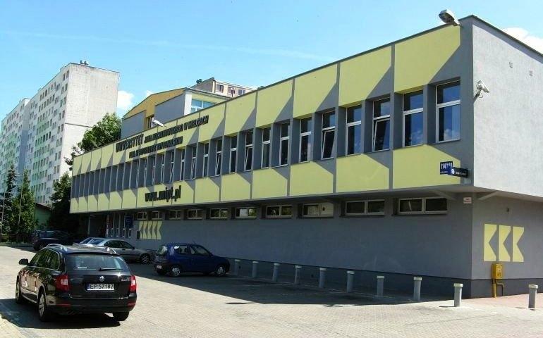 Na zdjęciu piotrkowska Filia Uniwersytetu Jana Kochanowskiego w Kielcach.