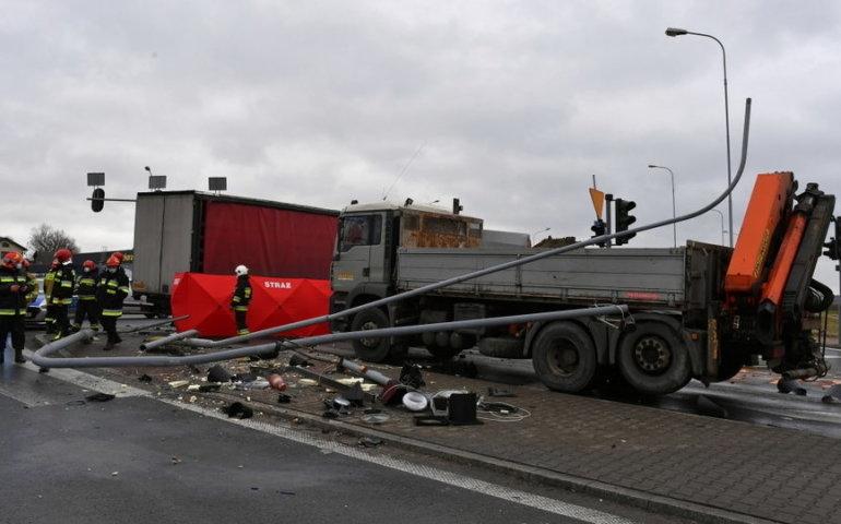 Śmiertelny wypadek na DK 91
