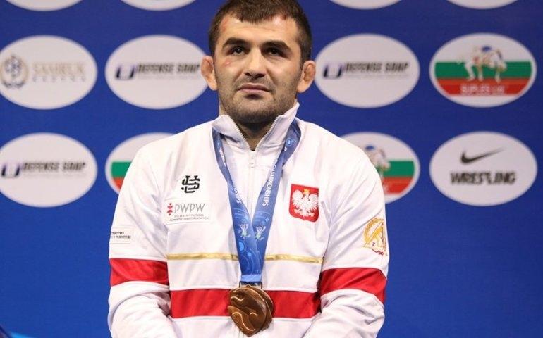 Murad Gadzhiev brązowym medalistą mistrzostw świata, wywalczył jedyny krążek dla Polski
