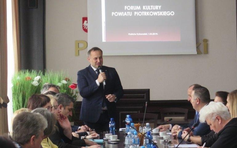 Forum Kultury odbyło się w piotrkowskim Starostwie Powiatowym