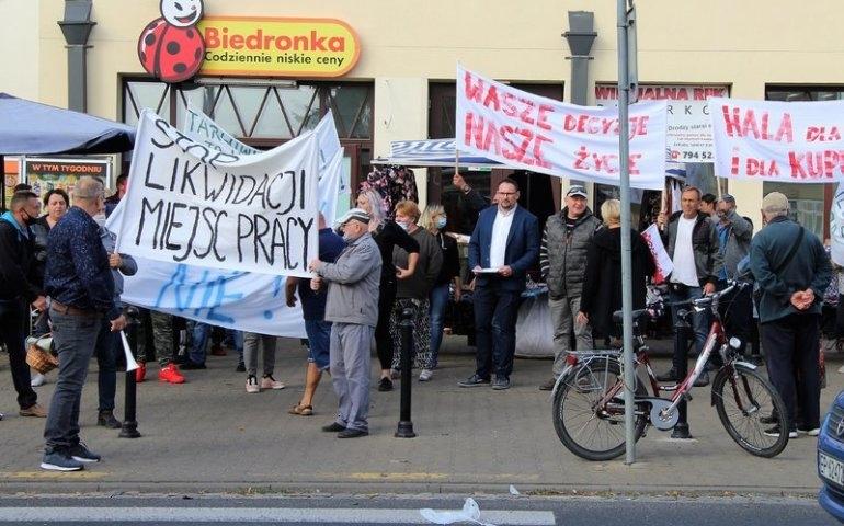 Protest kupców, fot. Ł. Michalczyk