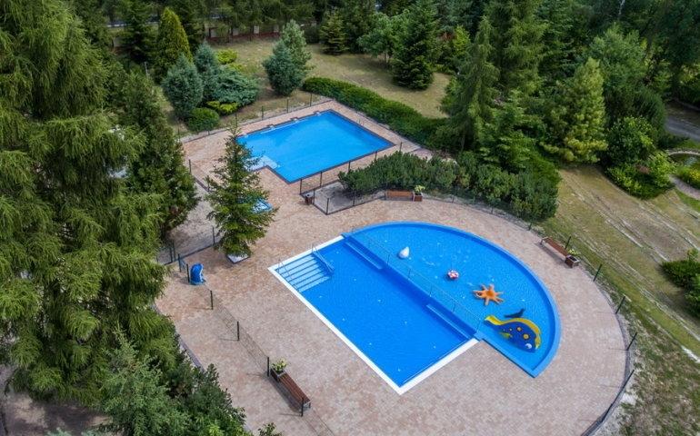 W Tomaszowie Maz. odkryty basen funkcjonuje na terenie tamtejszego ORDN | fot. ORDN Tomaszów Maz.
