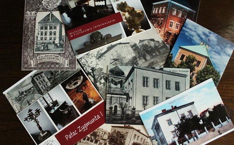 Nowe pocztówki z widokami piotrkowskiego zamku już w sprzedaży