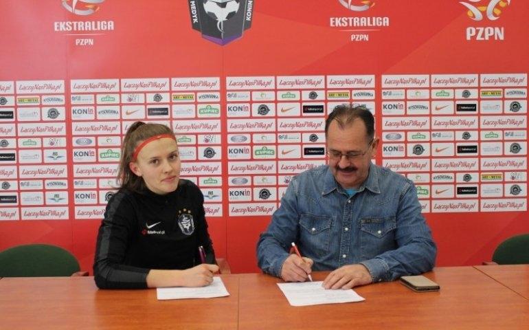 Julia Chudy w jednym z najlepszych polskich klubów