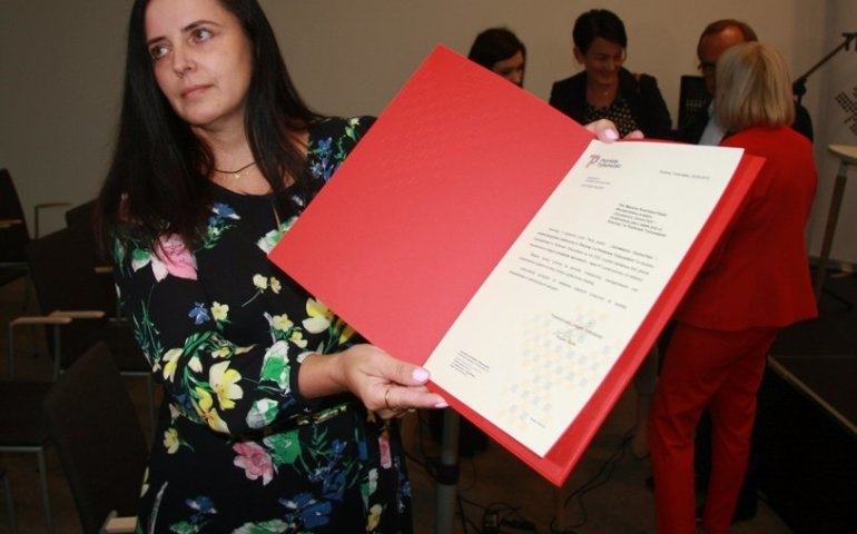 Nagrodzona Marzena Rumińska-Filipek
