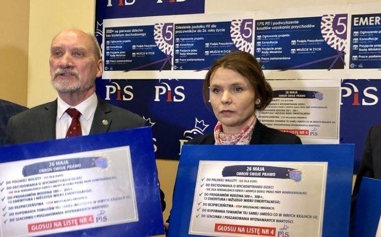 Kandydaci PiS do Europarlamentu przedstawili swój program