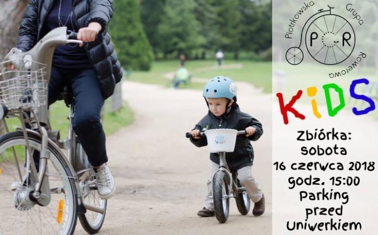 Wycieczka rowerowa dla najmłodszych