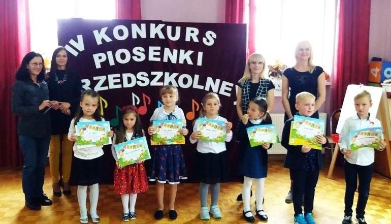 Rozśpiewane dzieciaki z gminy z Wolbórz