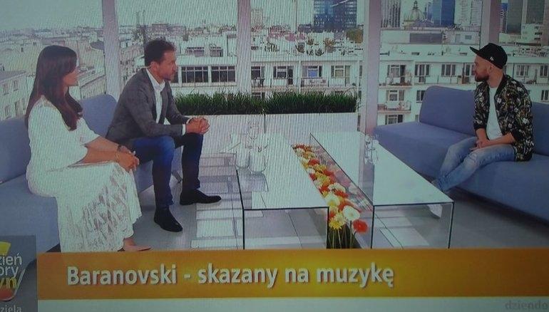 """Wojtek Baranowski w """"Dzień Dobry TVN"""""""