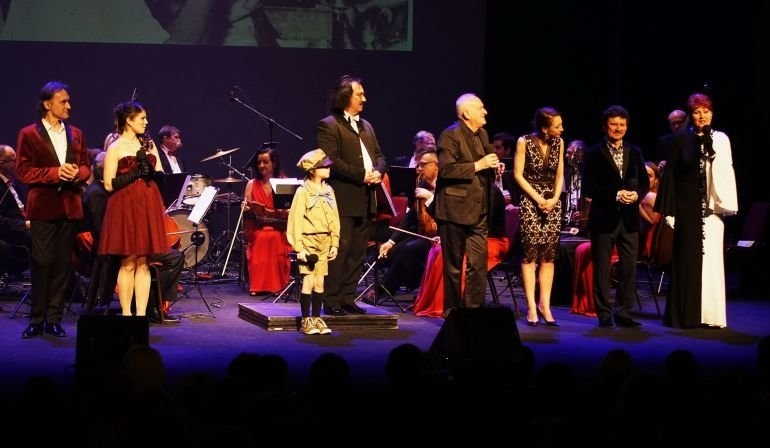Borys wystąpił na deskach teatru w Krakowie