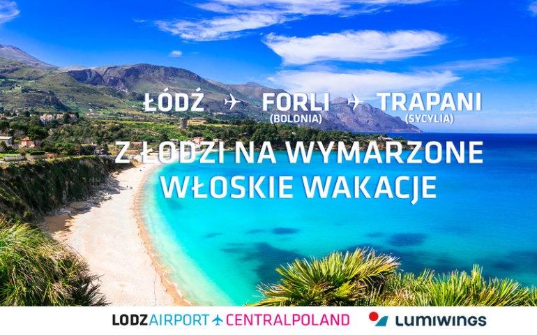 Mamma mia! Lecimy z Łodzi do Włoch!